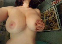 Selfie coquin et nue