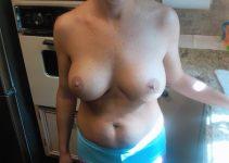 Photo discrète de mes seins
