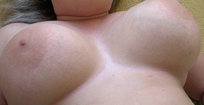Mes gros seins toute nue