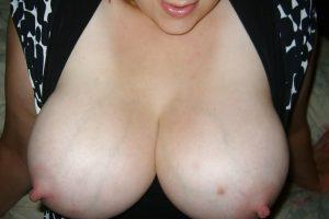 Photo cochonne de ma grosse poitrine